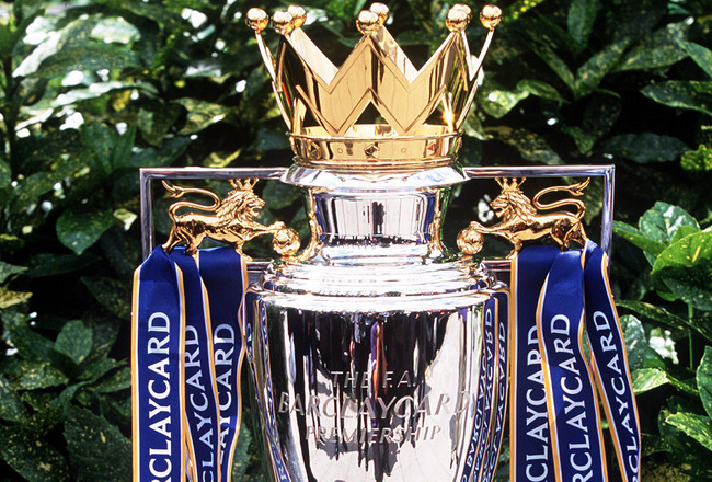 premier league trophy Evaluating Arsenal, Chelsea, Man United, Man City and Liverpools Premier League Title Chances