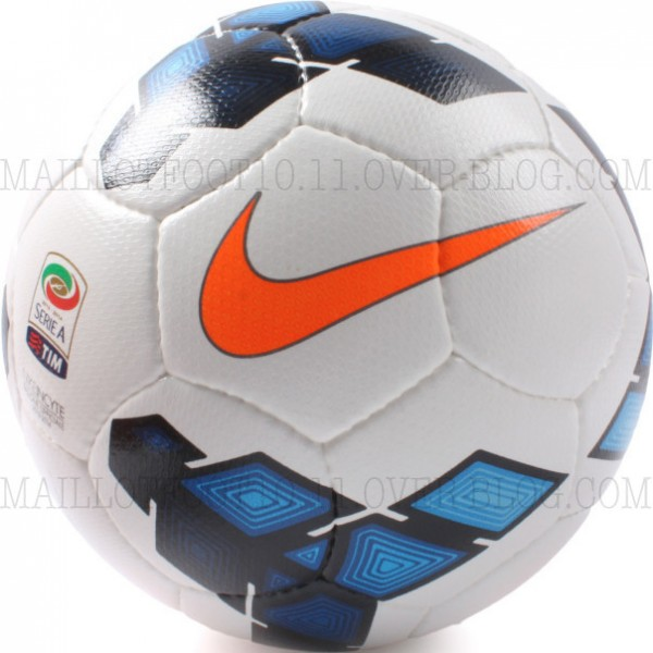 serie a ball 2013 14 600x600 Official Nike Balls for Premier League, Serie A and La Liga 2013 14 Season Revealed: Leaked [PHOTOS]