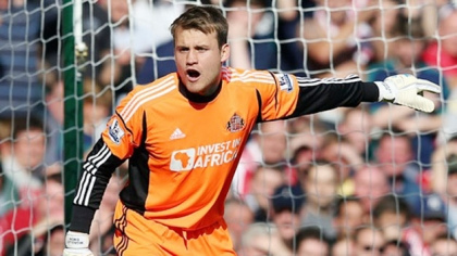 simon mignolet Liverpool Close In On £9m Deal for Sunderland Goalkeeper Simon Mignolet: Daily Soccer Report