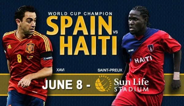 spain haiti 600x344 Spain vs Haiti, International Friendly: Open Thread