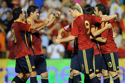 spain team GROUP H