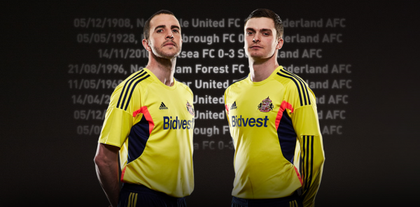 sunderland away shirt 600x296 Sunderland Away Shirt for 2013 14 Season: Official [PHOTOS]