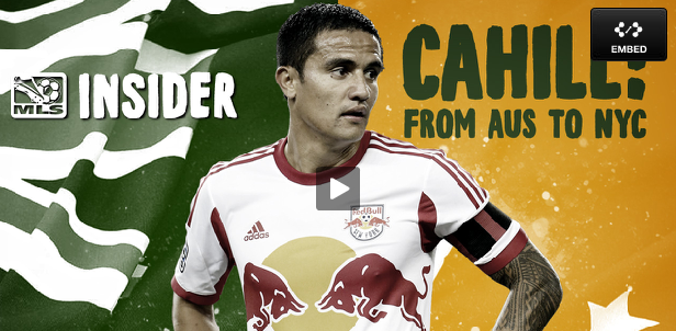 tim cahill mls insider Tim Cahill Makes Return to MLS In RBNYs 2 2 Draw With Toronto