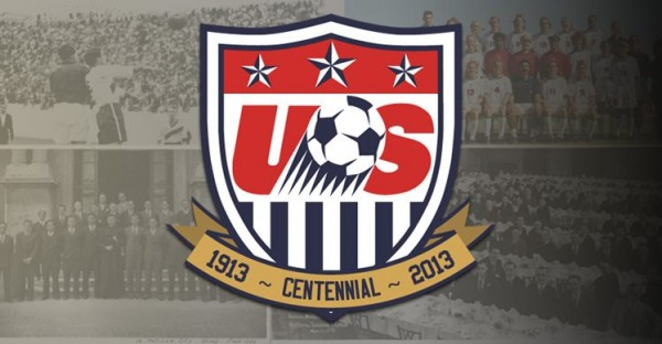 us soccer crest 600x312 US Soccer Announce 23 Man Squad for 2013 Gold Cup: Landon Donovan Returns