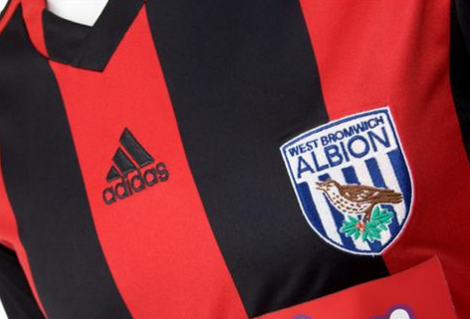 west brom away shirt crest West Bromwich Albion Away Shirt for 2013 14 Season: Official [PHOTOS]