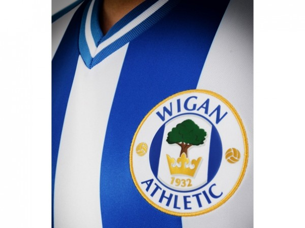Wigan Athletic Home Shirt for 2013 14 Season: [PHOTOS]