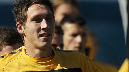 Mark Milligan Australias Mark Milligan Close to Agreeing Deal With Crystal Palace