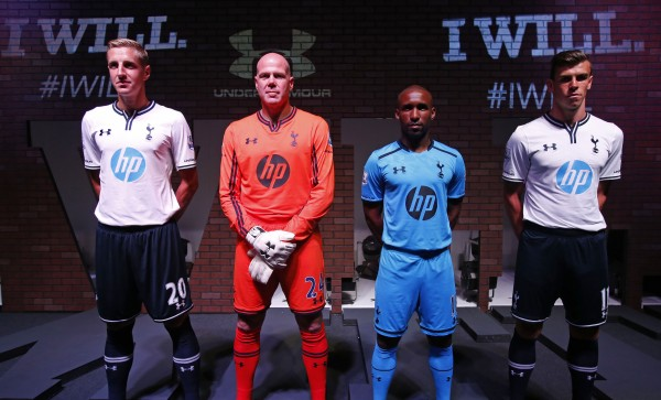 Tottenham Kit Launch 600x363 Tottenham Hotspur Home and Away Kits for 2013 14 Season: Official [VIDEOS]