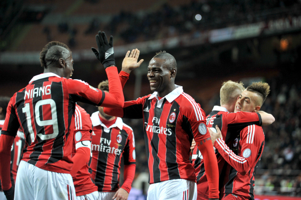 ac milan group1 Squads Announced For 2013 International Champions Cup For July 27 August 7