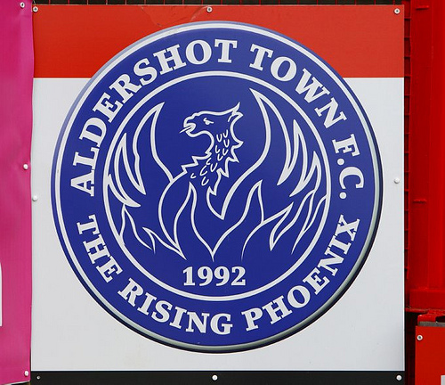 aldershot town Aldershot Town Are Flying Too Close to The Sun; Club Face Extinction