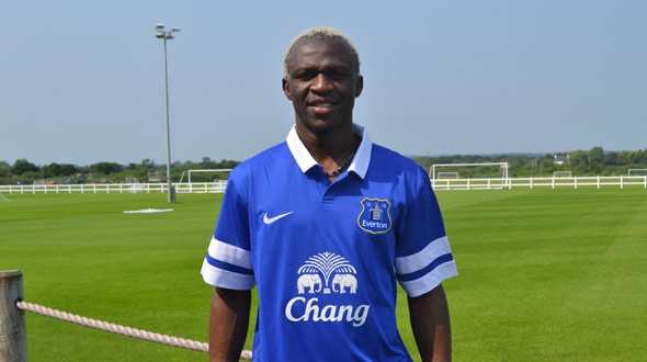 arouna kone1 Everton Sign Striker Arouna Kone From Wigan On 3 Year Deal