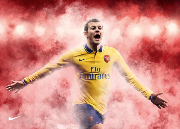 arsenal away kit wilshere Arsenal Release Short Film to Promote 2013 14 Away Kit [VIDEO]