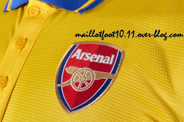 Arsenal Away Shirt For 2013 14 Season: Brand New Set of Leaked Photos