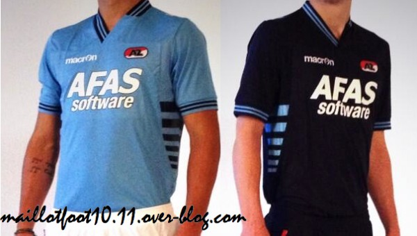 AZ Alkmaar Home, Away and Third Shirts for the 2013 14 Season: Official [PHOTOS]
