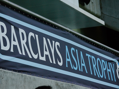 barclays asia trophy Manchester City Defeats Sunderland to Win 2013 Barclays Asia Trophy [VIDEO]