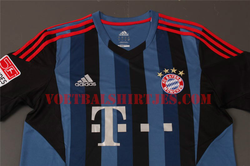 bayern munich third shirt closeup Is This Bayern Munichs Third Shirt for the 2013 14 Season? [PHOTOS]