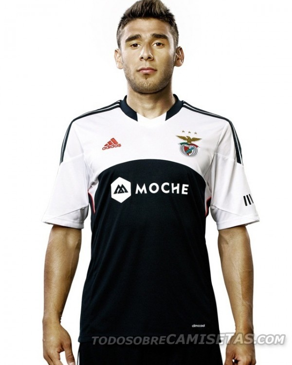 benfica away shirt 600x750 Benfica Away Shirt for 2013 14 Season [PHOTO]