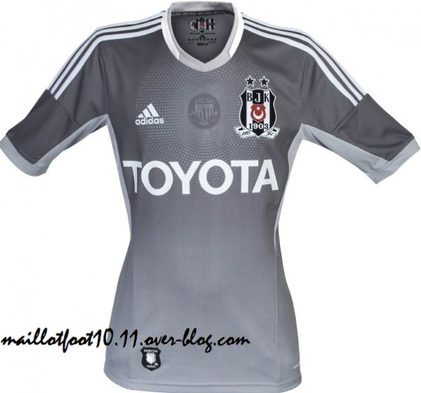 Besiktas Third Shirt for the 2013 14 Season: 110 Year Anniversary [PHOTOS]