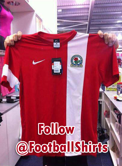 blackburn away shirt Blackburn Rovers Away Shirt for 2013 14 Season: Leaked [PHOTO]