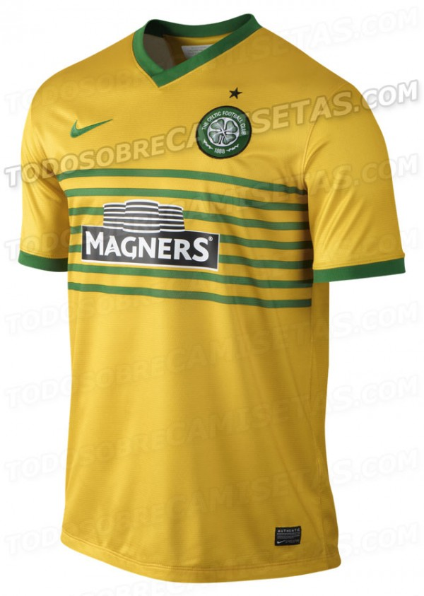celtic away shirt front 600x843 Celtic Away Shirt for 2013 14 Season: Leaked [PHOTOS]