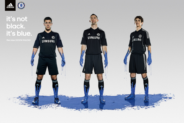 chelsea third shirt promo Chelsea Launch Third Shirt for 2013 14 Season: Official [PHOTOS]