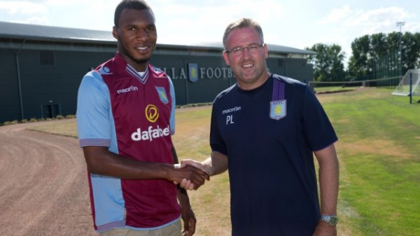 christian benteke1 600x337 Christian Benteke Agrees Aston Villa Contract Extension Through 2017
