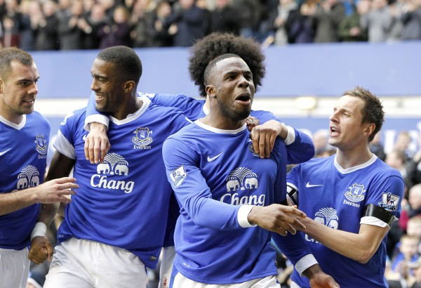 everton team 600x410 Everton Adds English Flavor to the EPL