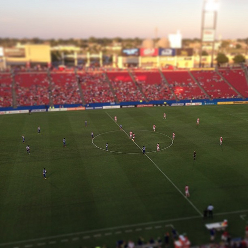 fc dallas stoke city FC Dallas 0 1 Stoke City: Mark Hughess Attacking Tactics Are A Work In Progress