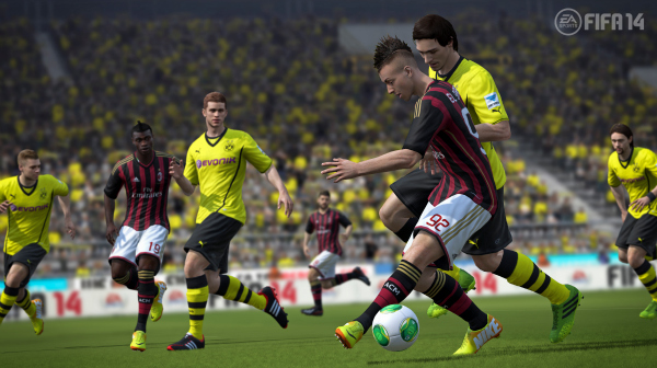 fifa 14 ac milan dortmund FIFA 14: EA Sports Release New Screenshots Of Game And Ultimate Team