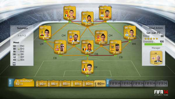 fifa 14 ultimate team 5 See Whats New In FIFA 14 Ultimate Team [VIDEO]