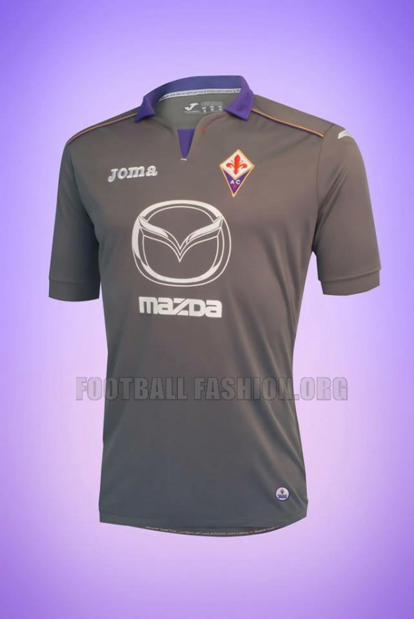 fiorentina third shirt 600x897 Fiorentina Home, Away and Third Shirts for 2013 14 Season [PHOTOS]