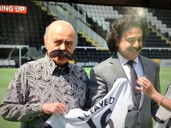 fulham khan al fayed 600x450 Fulham Sale Adds to the Alarming US Takeover of English Football: Daily Soccer Report