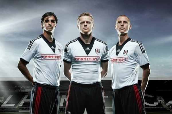 fulham new home kit 600x399 Fulham Home Shirt for 2013 14 Season: Official [PHOTOS]