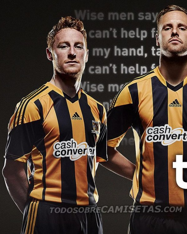 hull city home shirt closeup 600x750 Hull City Home Shirt for 2013 14 Season: Official [PHOTOS]