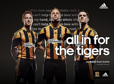 hull city home shirt group Hull City Home Shirt for 2013 14 Season: Official [PHOTOS]