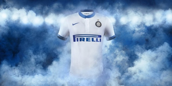 inter milan away shirt front 600x300 Inter Milan Home and Away Shirts for 2013 14 Season: Official [PHOTOS]