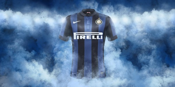 inter milan home shirt front 600x300 Inter Milan Home and Away Shirts for 2013 14 Season: Official [PHOTOS]