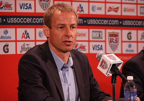 jurgen klinsmann1 Jurgen Klinsmann Agrees Four Year Contract Extension to USMNT Head Coach Job