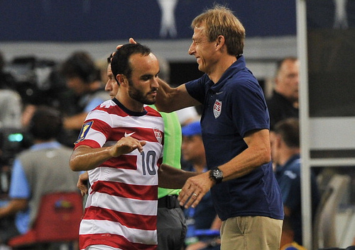 landon donovan2 Despite Excellent Gold Cup, Landon Donovan Has Not Earned Automatic Selection