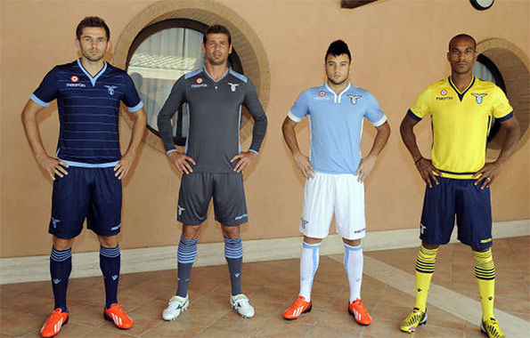 lazio home away third shirts Lazio Home, Away and Third Shirts for 2013 14 Season: Official [PHOTOS]