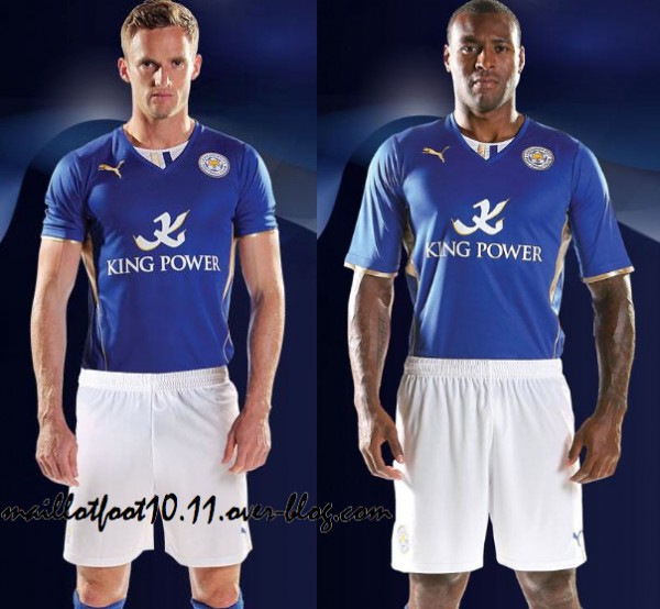 Leicester City Home Shirt for 2013 14 Season [PHOTO]