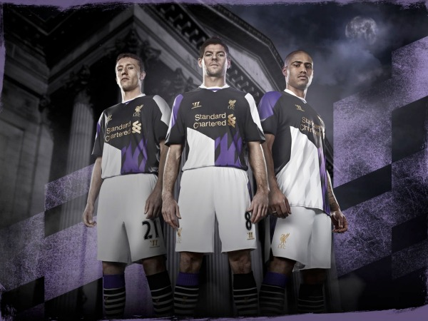 liverpool third shirt 2 montage Liverpool Third Shirt for 2013 14 Season: Official [PHOTOS]