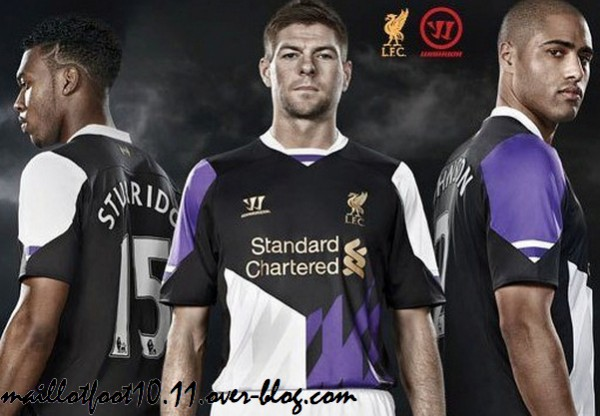 Liverpool Third Shirt for 2013 14 Season: Leaked Official [PHOTOS]
