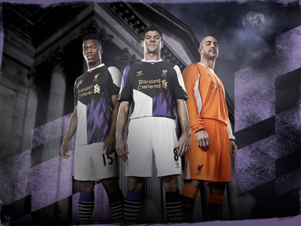 liverpool third shirt montage Liverpool Third Shirt for 2013 14 Season: Official [PHOTOS]