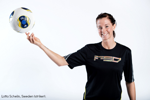 lotta schelin sweden UEFA Womens Euro 2013 Preview
