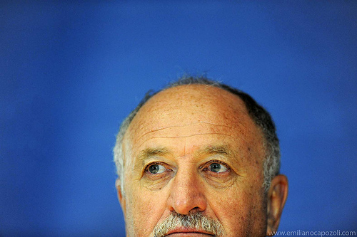 luiz felipe scolari Scolari Pulls Out of England Race