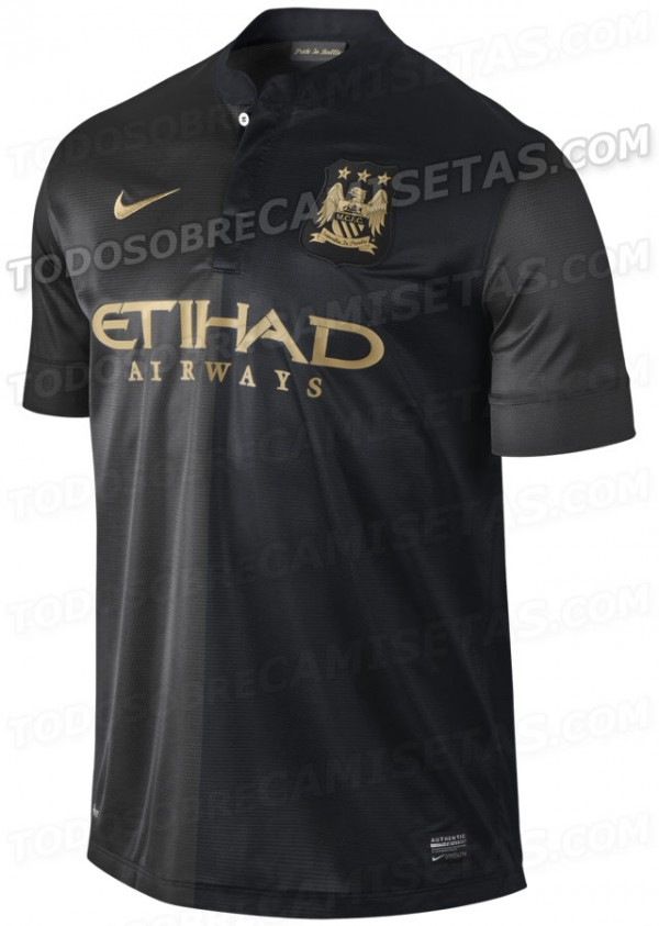 manchester city away shirt front 600x843 Manchester City 2013 14 Away Shirt Leaked: Official [PHOTOS]