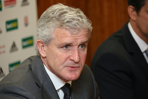 mark hughes Mark Hughes Wants to Bring Good Football to Stoke City