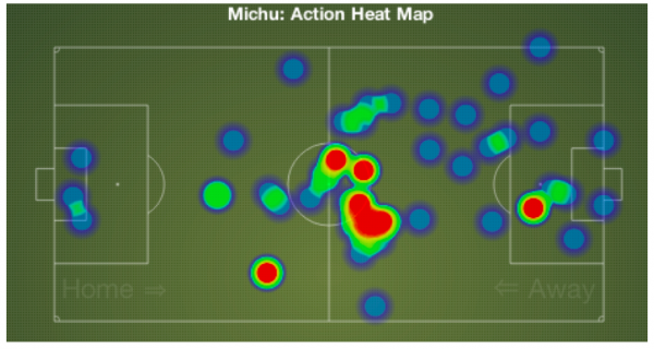 michu heat map 600x320 Swansea City Are Ready to Scale New Heights In Third Season in Premier League