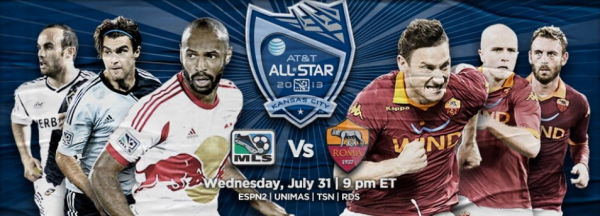 mls all star game3 600x216 MLS All Star Game: AS Roma vs MLS All Star Team: Open Thread